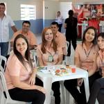 Comerciários da Loja Cem de Bragança